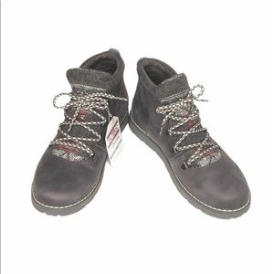 Bobs by Skechers Alpine Boots Charcoal Size 6.5